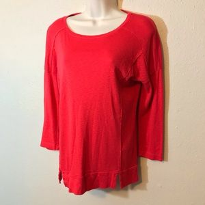 Michael Stars Red Pullover Top OS